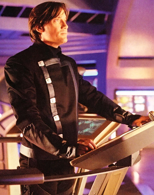 Dylan Hunt (Kevin Sorbo in Andromeda)