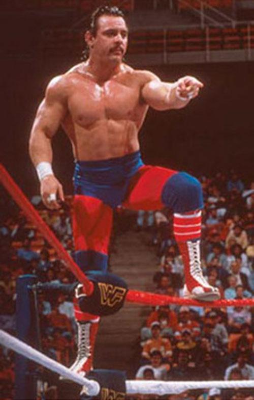 Dynamite Kid (Billington) in the ring