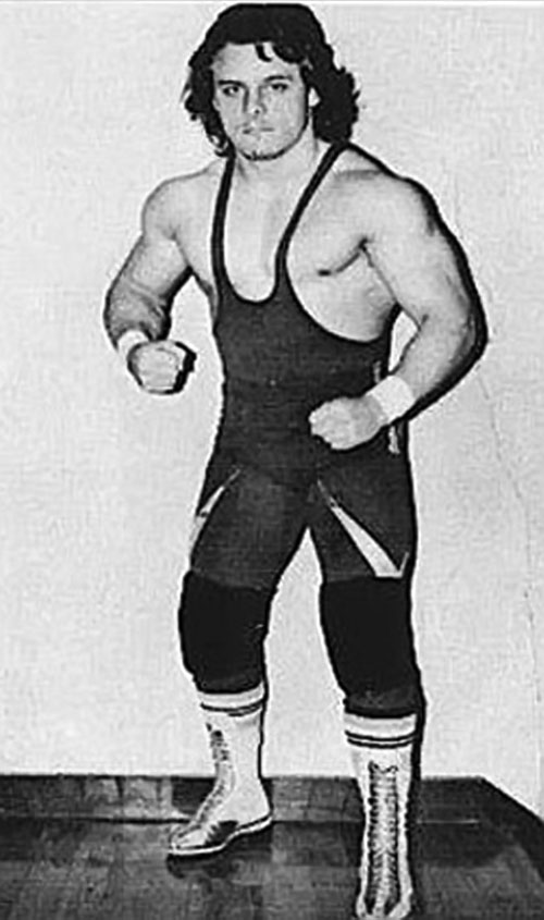 Dynamite Kid (Billington) B&W photo
