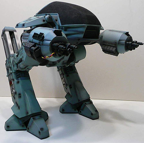 ED 209 robot in Robocop (model)