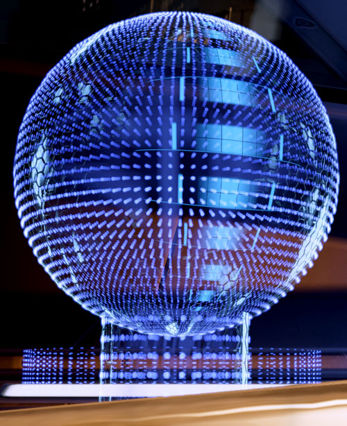 EDI Ee-Dee (Mass Effect 2) holographic ball