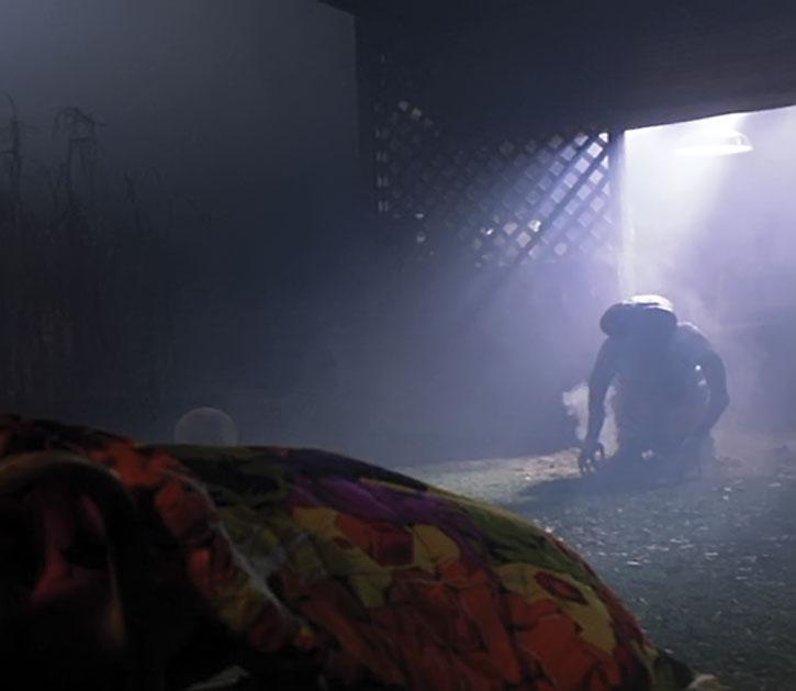 E.T. in a dark room