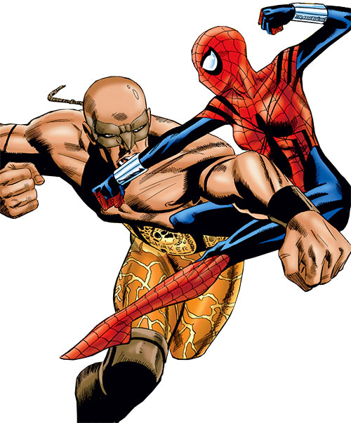 Earthshaker vs. Spider-Girl (Marvel Comics MC2)