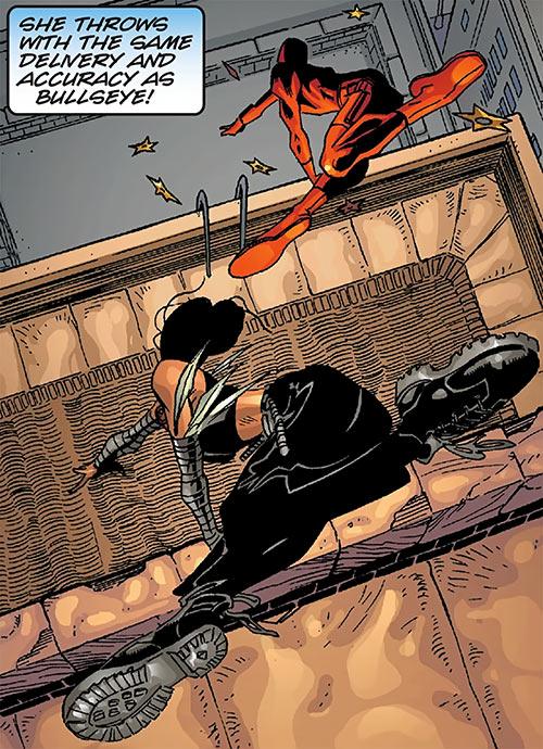 Echo vs. Daredevil (Marvel Comics)