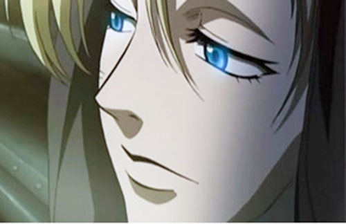 Eda (Black Lagoon) face closeup