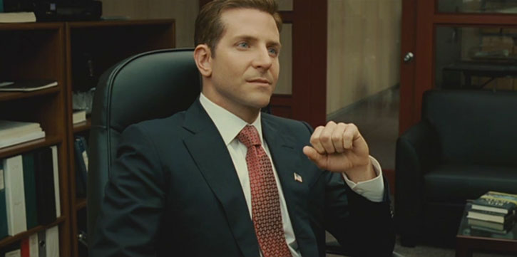 Eddie Morra (Bradley Cooper in Limitless) politician