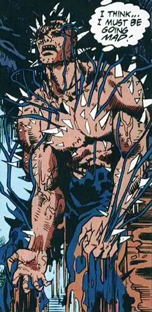 Edge's body