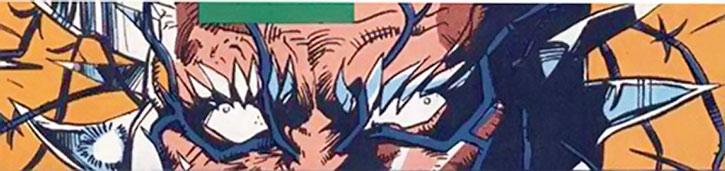 Edge (Tom O'Brien) eyes closeup