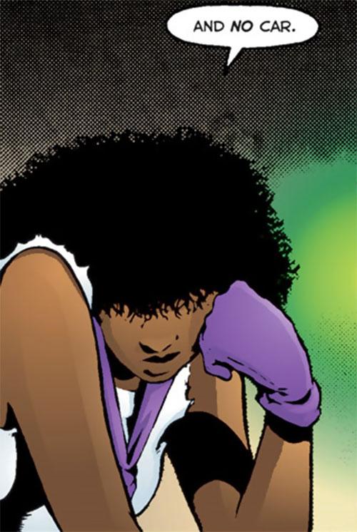 Edsel (Matt Wagner's Mage comics) grumpy face closeup