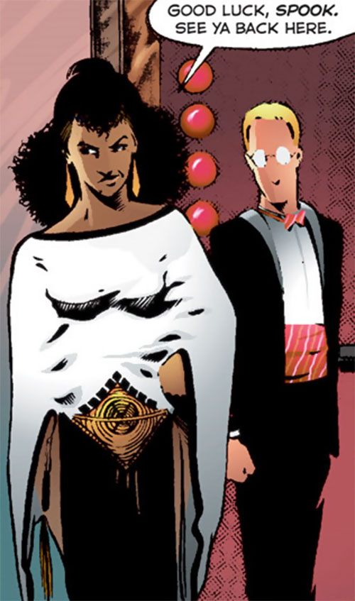 Edsel (Matt Wagner's Mage comics) dressed up