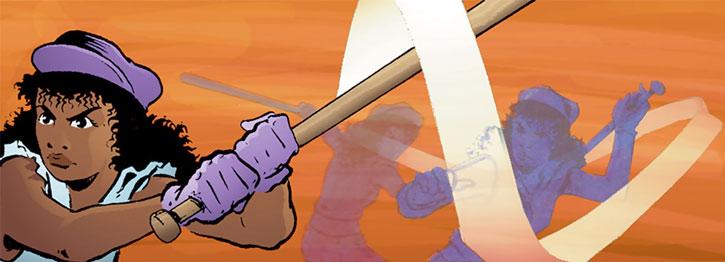 Edsel (Matt Wagner's Mage comics) batter up