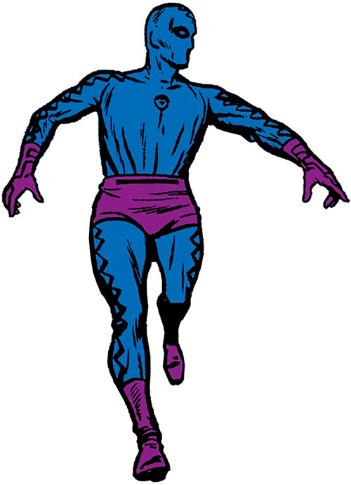 Eel (Marvel Comics) (Leopold Stryke) 1964 blue costume