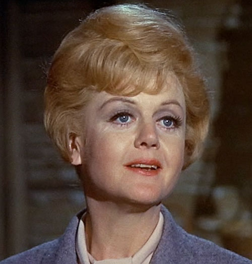 Eglantine Price (Angela Lansbury in Bedknobs and Broomsticks) smiling