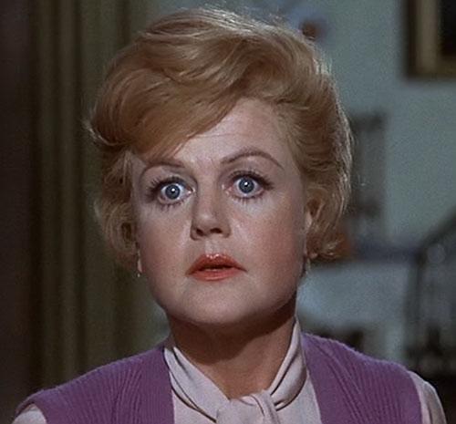 Eglantine Price (Angela Lansbury in Bedknobs and Broomsticks) surprised big eyes