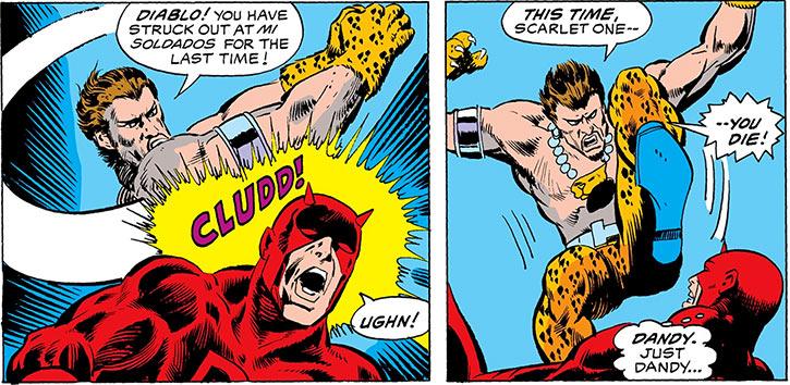 El Jaguar (Marvel Comics) (Hydra) vs. Daredevil