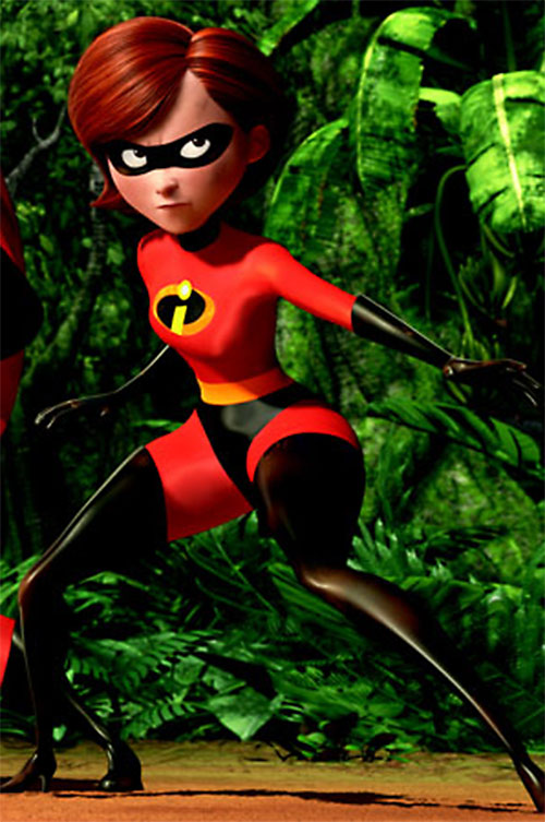 Elastigirl aka Mrs. Incredible (Pixar)
