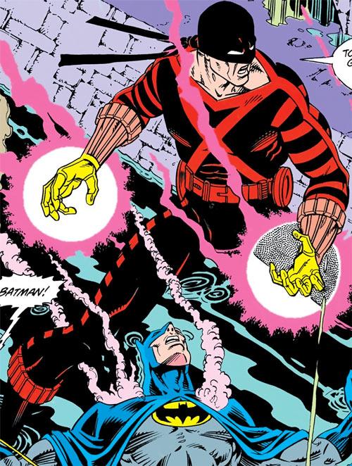 Electrocutioner III (Batman enemy) (DC Comics) vs. Batman