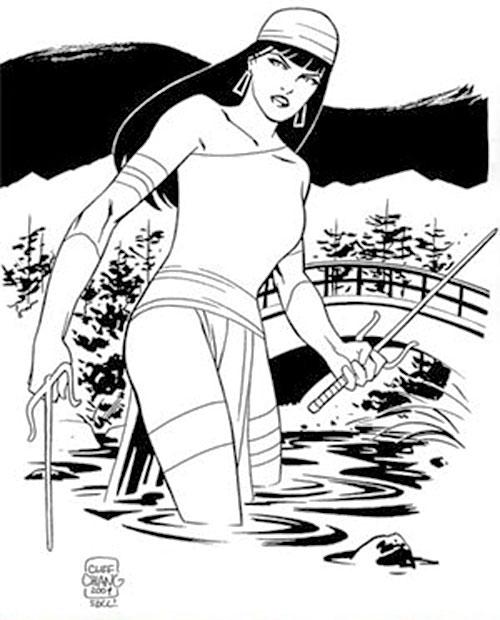 Elektra (Marvel Comics) by Cliff Chiang