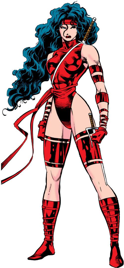 Elektra (Marvel Comics) by Deodato