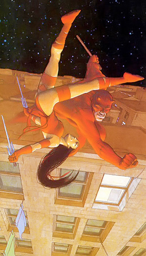 Elektra (Marvel Comics) vs. Daredevil