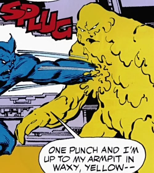 Phosphorus of the Elements of Doom (Marvel Comics) vs. the Beast
