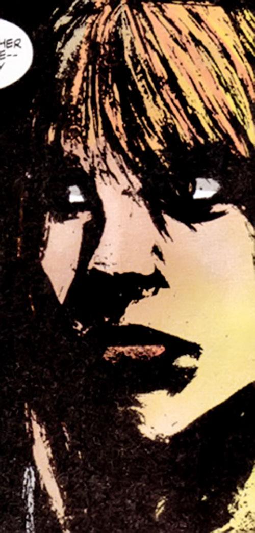 Elena Ivanovna (Maverick ally) (Marvel comics) face closeup
