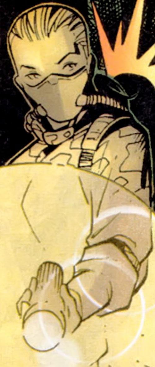 Elena Ivanovna (Maverick ally) (Marvel comics) suited up