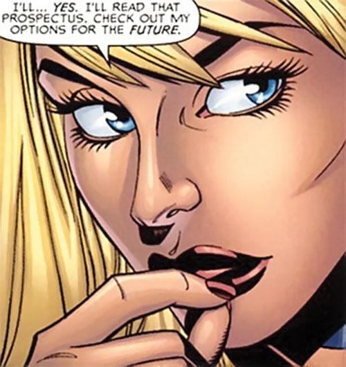 Elsa Bloodstone (Marvel Comics) (Early) face closeup