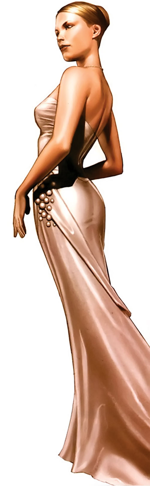 Elsa Bloodstone (Marvel Comics after Nextwave) in an expensive gown
