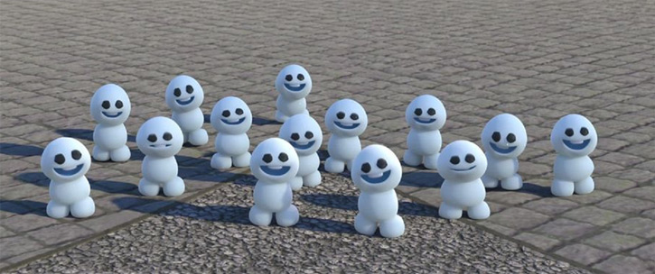 Snowgies in Disney's Frozen