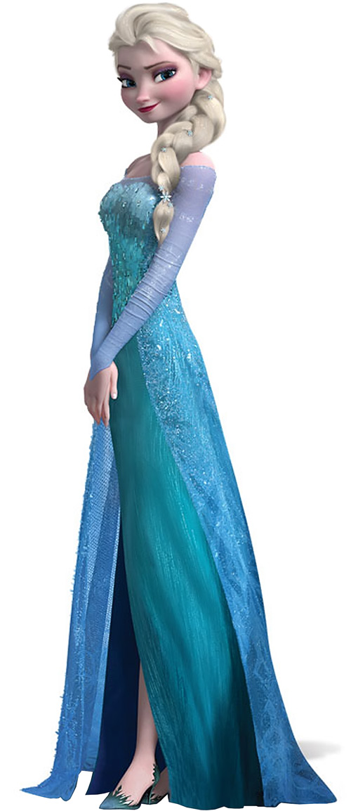 Frozen princess elsa disney character profile - Reine des neiges elsa ...