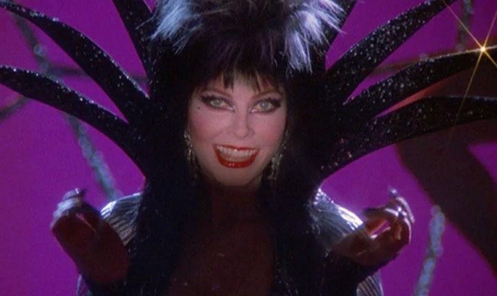 Elvira smiling