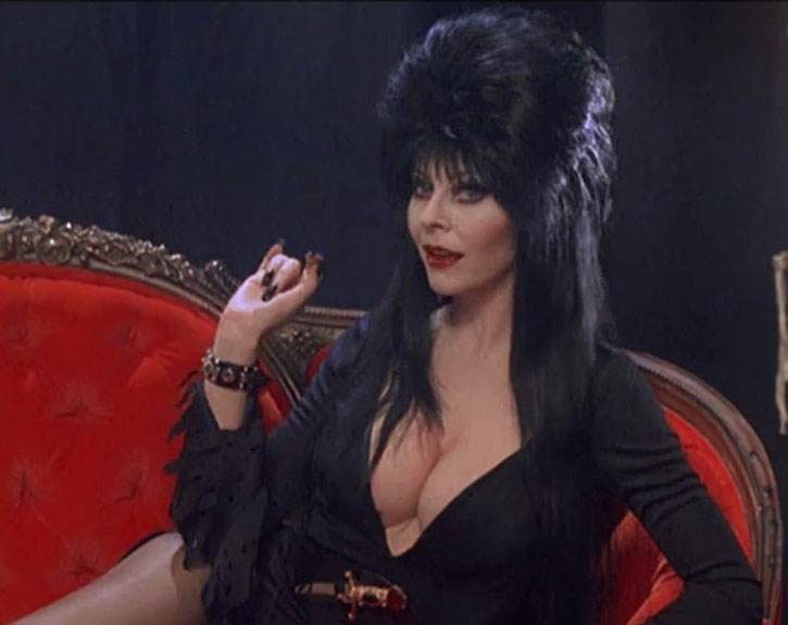 Elvira narrating