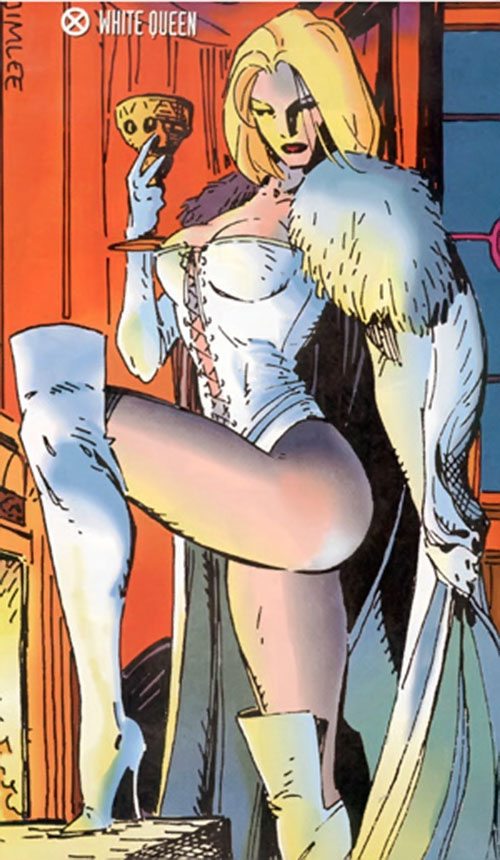 Emma Frost (White Queen) (Marvel Comics) by Jim Lee