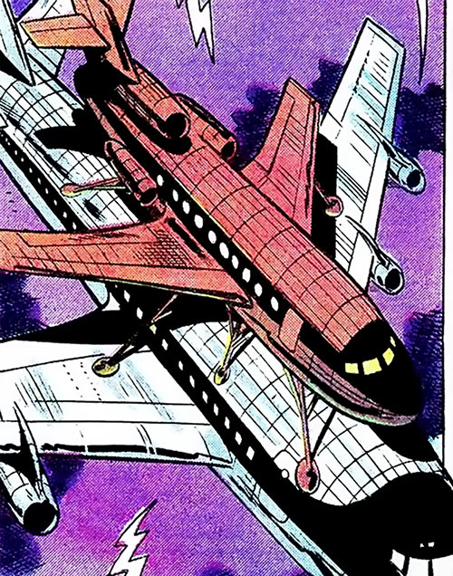 Enforcer (Marvel Comics) airplane boarding modified