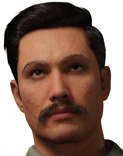 Enrico Chavez - GURPS Time Travel Adventures villain - MetaHumans Creator portrait