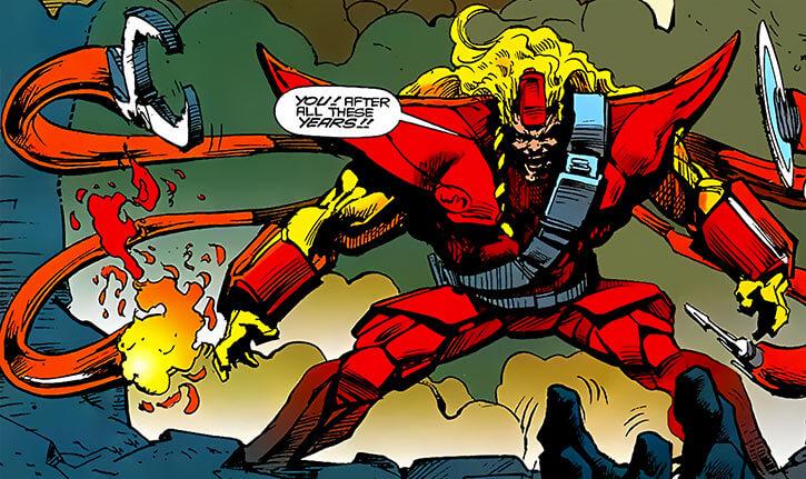 Epsilon Red (Marvel Comics) soviet super-cosmonaut