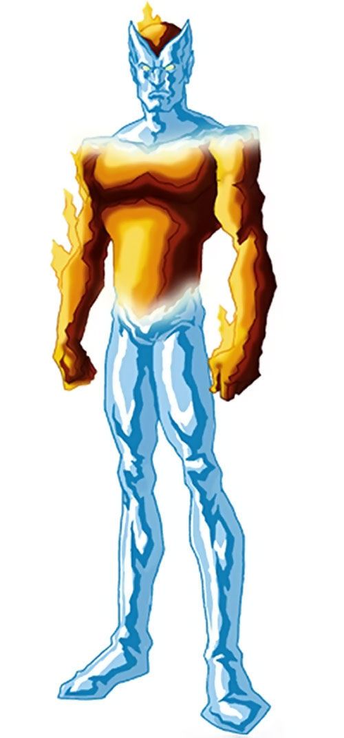 Equinox - Marvel comics - Fire and ice man - Character profile