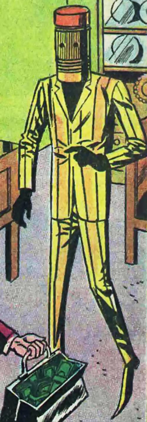 The Eraser in costume