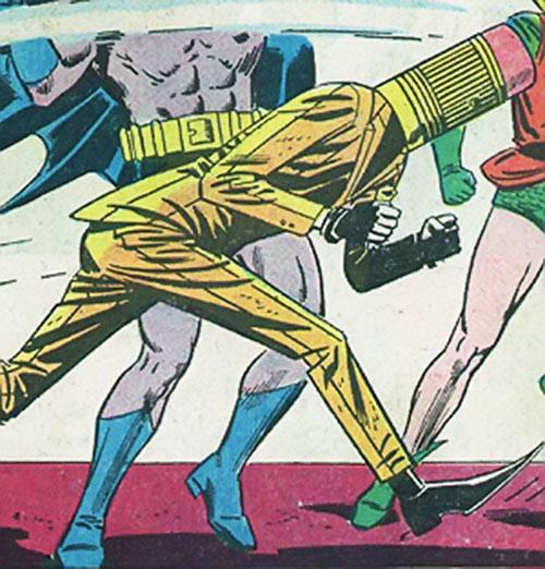 The Eraser vs. Batman and Robin