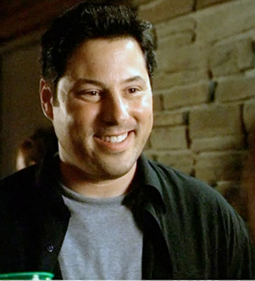 Eric Weiss (Greg Grunberg in Alias) smiling