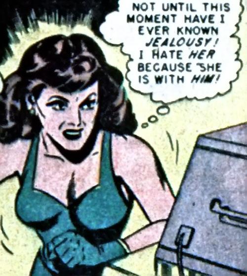 Erica of Venus (Moon Girl enemy) (EC Comics) cursing