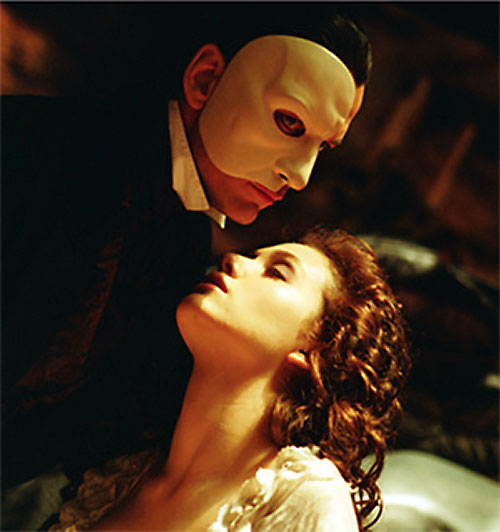 Erik the Phantom of the Opera (Webber version) and Christine 2/2