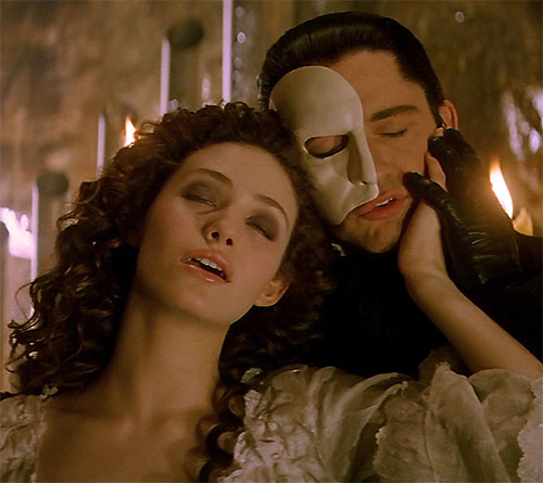 Erik the Phantom of the Opera (Webber version) and Christine 1/2