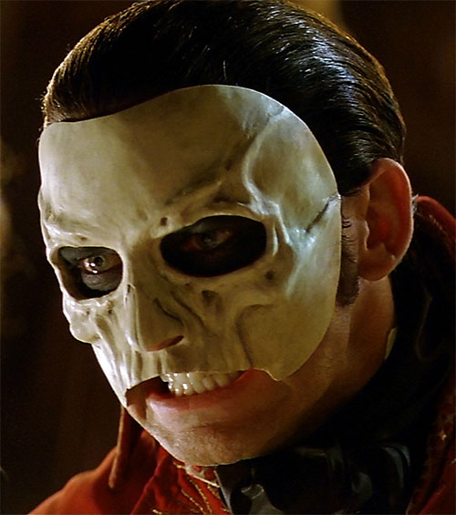 Erik the Phantom of the Opera (Webber version) mask closeup