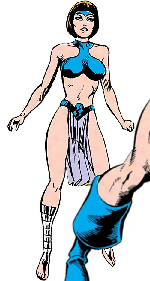 Esper Lass (Legion of Super-Heroes enemy) (DC Comics)