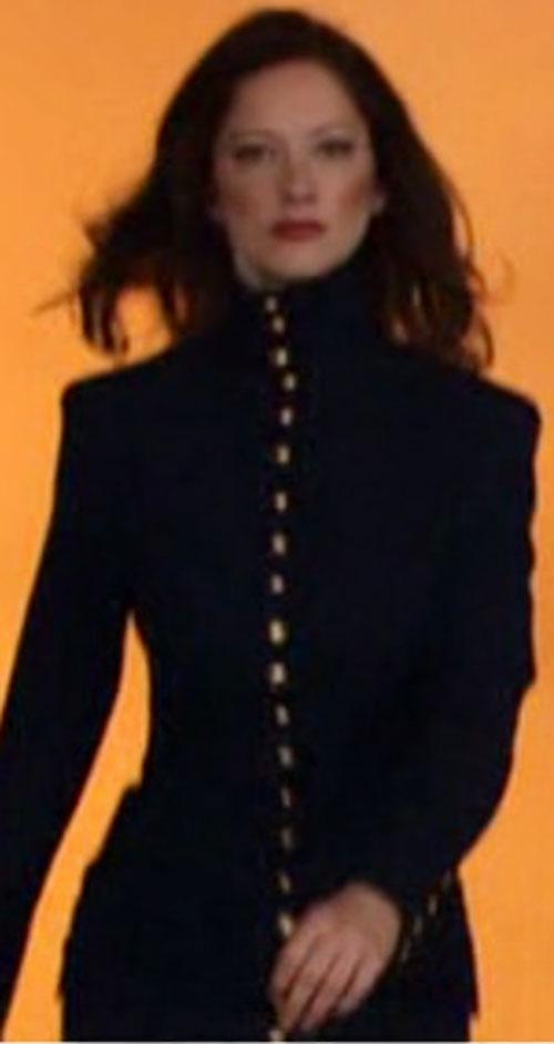 Esther Bloomenbergensteinenthal (Judy Greer in The Hebrew Hammer) closeup