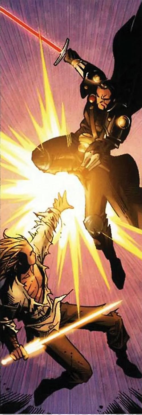 Ethan of Heron (Scion comics by Crossgen) vs. Bron