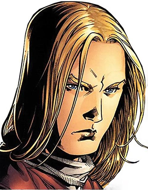 Ethan of Heron (Scion comics by Crossgen) face closeup