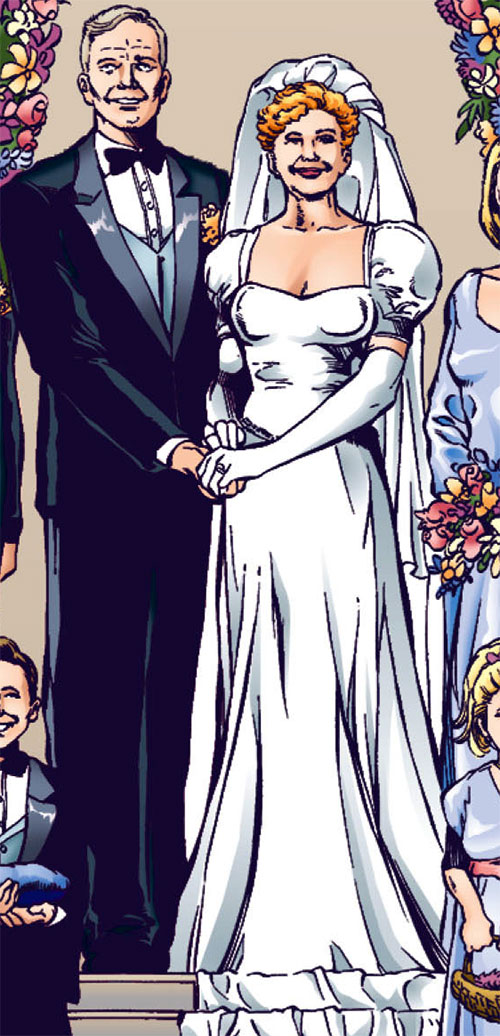 Etta Candy-Trevor (Wonder Woman ally) (DC Comics) gets married
